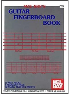 Guitar Fingerboard Book Books | Guitar
