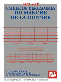 Guitar Fingerboard Book:  French Edition Books | Guitar