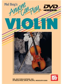 Anyone Can Play Violin DVDs / Videos | Violin