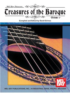 Treasures of the Baroque Volume One Books | Guitar, Guitar Tab