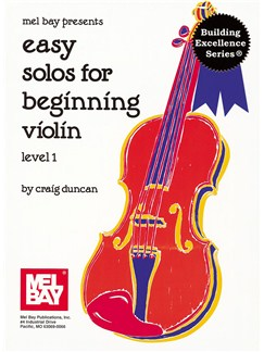 Easy Solos for Beginning Violin, Level 1 Books | Violin