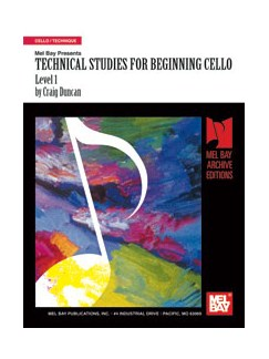 Technical Studies for Beginning Cello, Level 1 Books   Cello