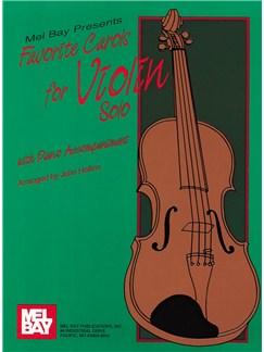 Favorite Carols for Violin Solo Books | Violin