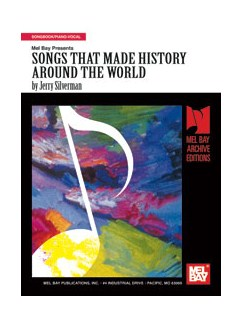 Songs That Made History Around the World Books | Piano, Voice