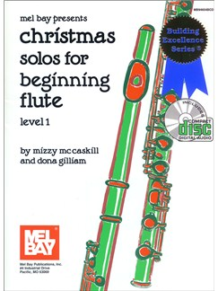 Christmas Solos for Beginning Flute, Level 1 Books and CDs | Flute