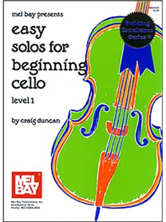 Easy Solos for Beginning Cello Level 1 Books | Cello