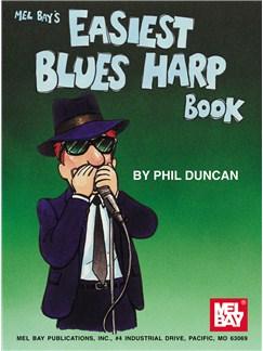 Phil Duncan: Easiest Blues Harp Book Books | Harmonica