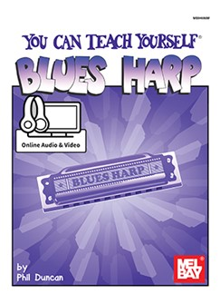 Phil Duncan: You Can Teach Yourself Blues Harp (Book/Online Media) Books and Digital Audio | Harmonica