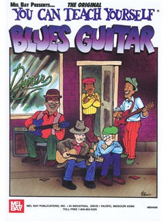 You Can Teach Yourself Blues Guitar Books | Guitar, Guitar Tab
