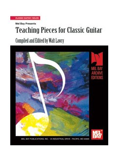 Teaching Pieces for Classic Guitar Books | Guitar