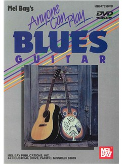 Anyone Can Play Blues Guitar DVDs / Videos | Guitar