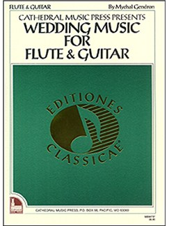 Wedding Music for Flute & Guitar Books | Guitar