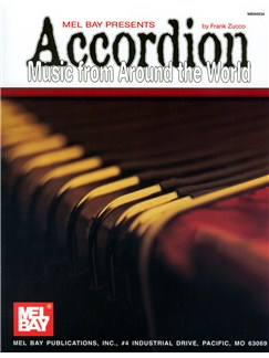 Accordion Music from Around the World Books | Accordion
