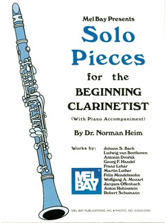 Solo Pieces For The Beginning Clarinetist Books | Clarinet