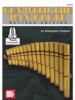 Fun With The Pan Flute (Book/Online Audio) Books and Digital Audio | Panpipes