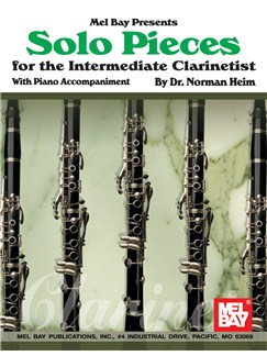 Solo Pieces for the Intermediate Clarinetist Books | Clarinet