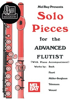 Solo Pieces For The Advanced Flutist Books | Flute