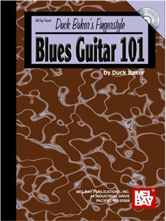 Duck Baker's Fingerstyle Blues Guitar 101 Books and CDs | Guitar, Guitar Tab