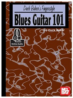 Duck Baker's Fingerstyle Blues Guitar 101 (Book/Online Audio) Books | Guitar