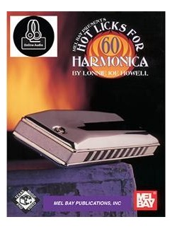 60 Hot Licks For Harmonica (Book/CD) Books and CDs | Harmonica