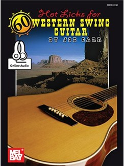 60 Hot Licks For Western Swing Guitar (Book/CD) Books and CDs | Guitar