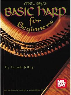 Laurie Riley: Basic Harp for Beginners Books | Harp