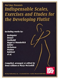 Indispensable Scales, Exercises & Etudes-Developing Flutist Books | Flute
