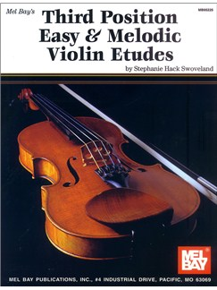 Third Position Easy & Melodic Violin Etudes Books | Violin