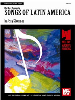 Songs of Latin America Books | Piano, Voice