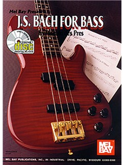 J. S. Bach for Bass Books and CDs | Bass Guitar, Bass Guitar Tab