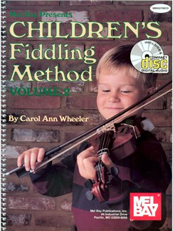 Children's Fiddling Method Volume 2 Books and CDs | Violin