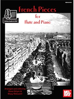 Mizzy McCaskill/Dona Gilliam: French Pieces For Flute And Piano (Book/Online Audio) Books | Flute, Piano Accompaniment