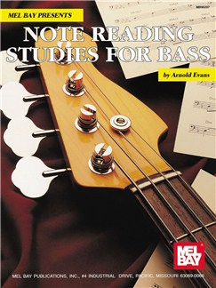 Note Reading Studies for Bass Books | Bass Guitar