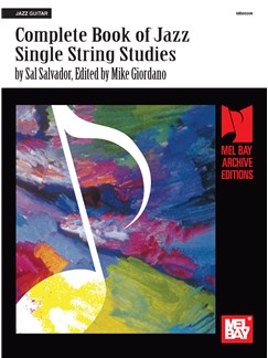 Complete Book of Jazz Single-String Studies Books | Guitar
