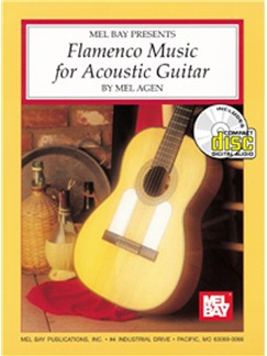 Mel Agen: Flamenco Music For Acoustic Guitar Books and CDs | Guitar