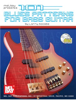 101 Blues Patterns for Bass Guitar Books and CDs | Bass Guitar, Bass Guitar Tab