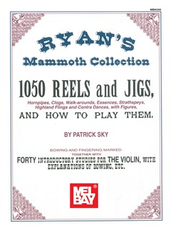 Ryan's Mammoth Collection of Fiddle Tunes Books | Violin