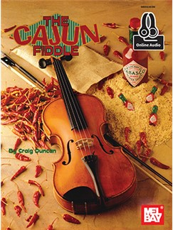 Craig Duncan: The Cajun Fiddle (Book/Online Audio) Books and Digital Audio | Violin