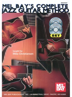Complete Jazz Guitar Method Books, CDs and DVDs / Videos | Guitar, Guitar Tab