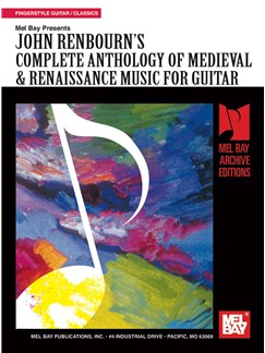 Complete Anthology of Medieval & Ranaissance Music for Guitar Books | Guitar, Guitar Tab