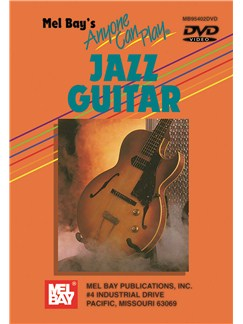Anyone Can Play Jazz Guitar DVDs / Videos | Guitar, Guitar Tab
