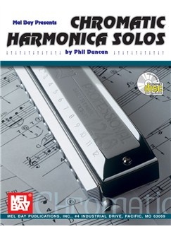 Chromatic Harmonica Solos Books and CDs | Harmonica