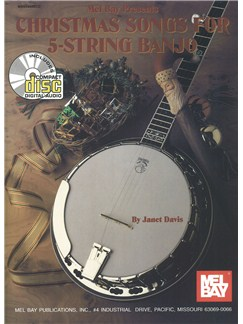 Christmas Songs for 5-String Banjo Books and CDs | Banjo, Banjo Tab