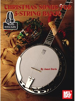 Janet Davis: Christmas Songs For 5-String Banjo (Book/Online Audio) Books and Digital Audio | Banjo