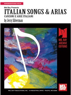 Italian Songs & Arias Books | Piano, Voice