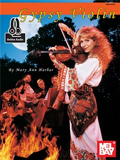 Mary Ann Harbar (Willis): Gypsy Violin (Book/Online Audio) Books and Digital Audio | Violin