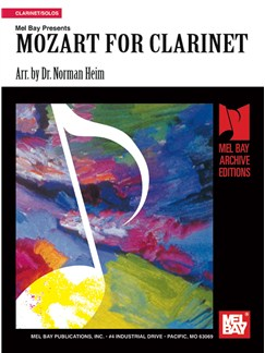 Mozart for Clarinet Books | Clarinet