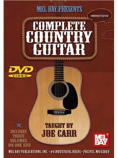 Complete Country Guitar Volumes 1, 2 And 3 DVDs / Videos | Guitar