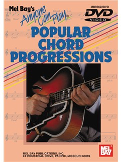 Anyone Can Play Popular Chord Progressions DVDs / Videos | Guitar
