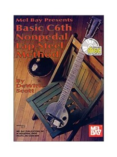 DeWitt Scott: Basic C6th Nonpedal Lap Steel Method Books | Lap Steel